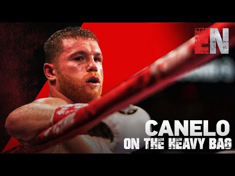 Canelo On The Heavy Bag | EsNews Boxing