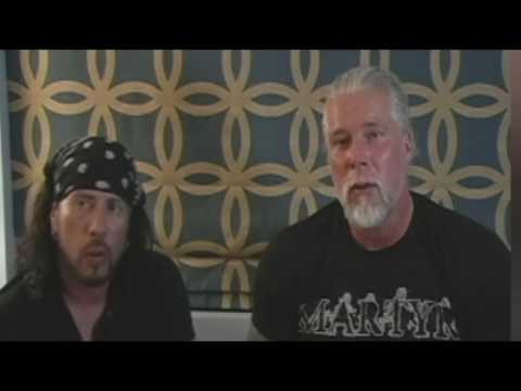 Kevin Nash threatens Wade Barrett hard in a shoot interview! OMG