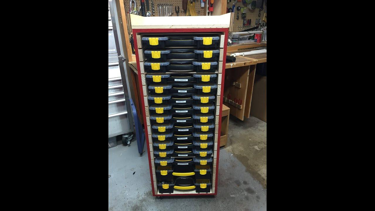 Plastic Box Storage Cabinet - Part 1 - YouTube