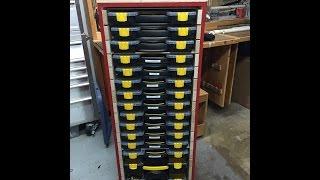 Plastic Box Storage Cabinet - Part 1