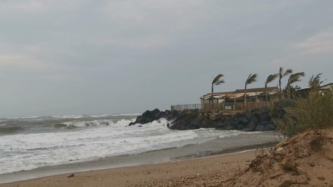 Tempête sur la côte Viassoise