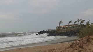 Coup de vent sur la Côte Viassoise. 03 octobre 2021