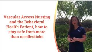 AVA 2018 Presentation Preview – Samantha DeParre on the Behavioral Health Patient