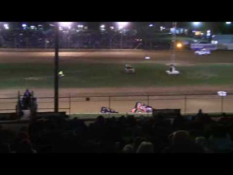 MSCS Sprint Car A Main at Lincoln Park Speedway 4-8-17