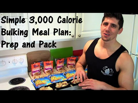 simple-3,000-calorie-bulking-meal-plan:-prep-and-pack