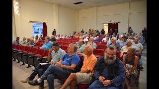 Συγκέντρωση διαμαρτυρίας στις Μουριές για το δικαίωμα ξύλευσης από το Μπέλλες-Eidisis.gr webTV