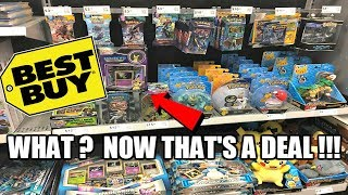 OPENING CHEAP POKEMON CARDS FROM BEST BUY! Pokemon TCG Hunting