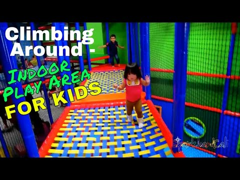 Indoor Amusement Center Climbing and Play Structures Jump N' Jammin FAMILY VLOG || Bounce House Rock