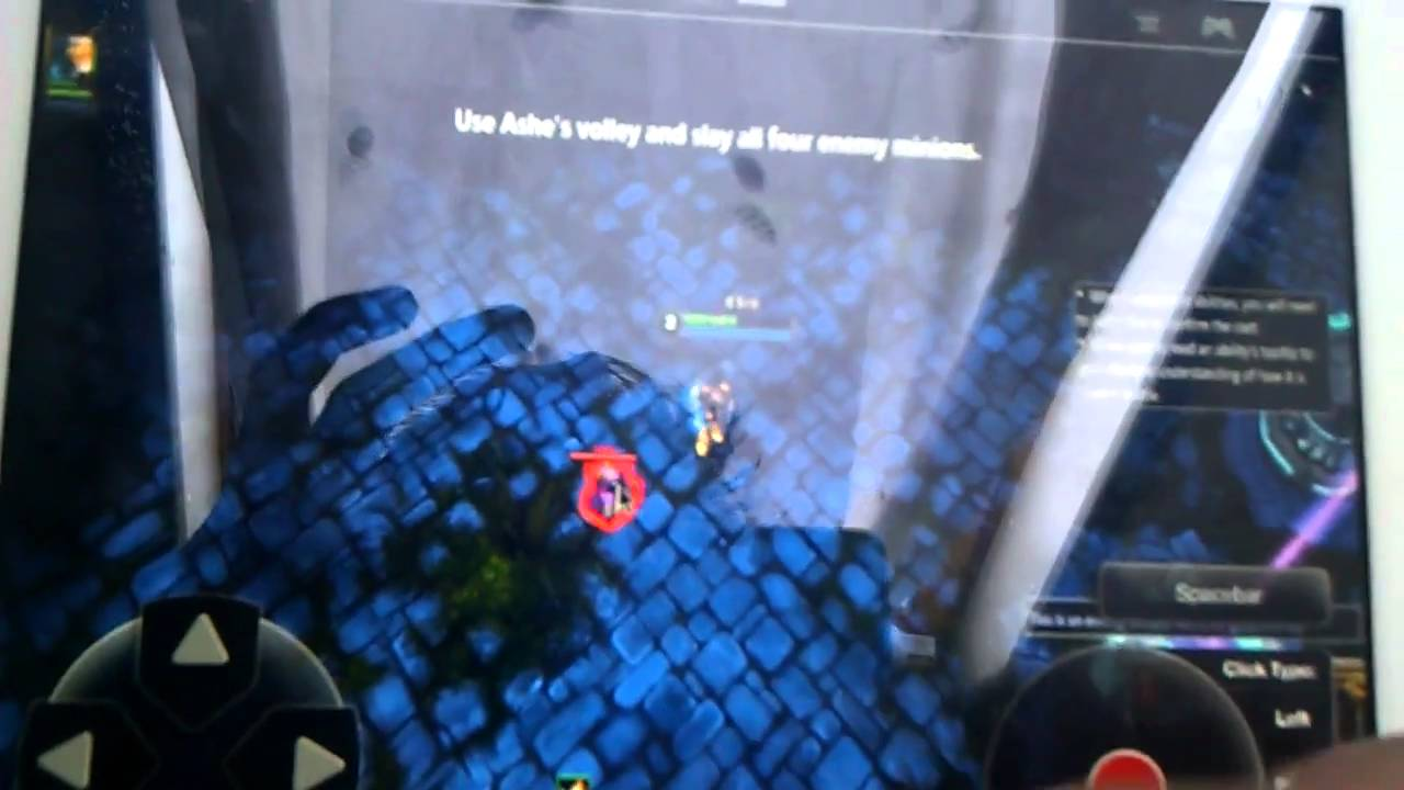 Playing League Of Legends On Ipad 2