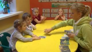 """Частный детский сад """"Взмах Центр"""". Урок английского языка.  Basic English 4 -5 лет"""