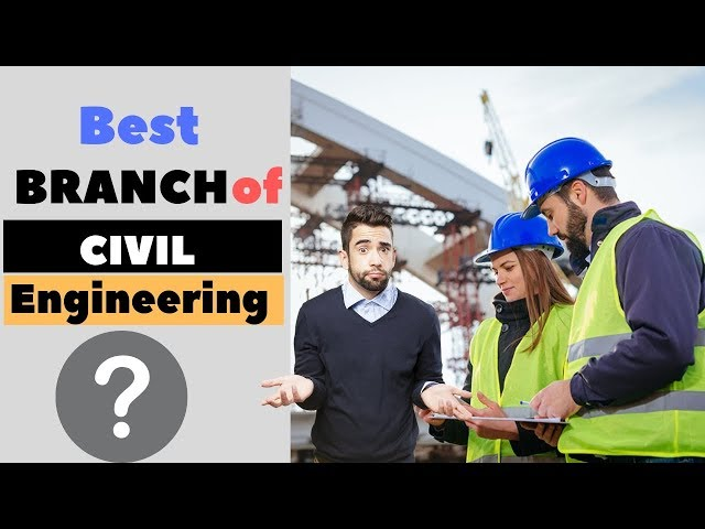 Top 12 Civil Engineering Branches to Choose Your Career.