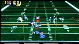 NFL Blitz 2000 Arcade Double Overtime Jets vs. Broncos