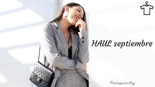 HAUL (Try-on-haul) MODA septiembre | PASO A PASO