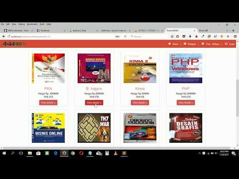 Source code aplikasi toko buku berbasis php & mysql