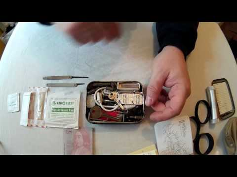 Urban Survival Tin (Terrorist Attack Survival Kit)