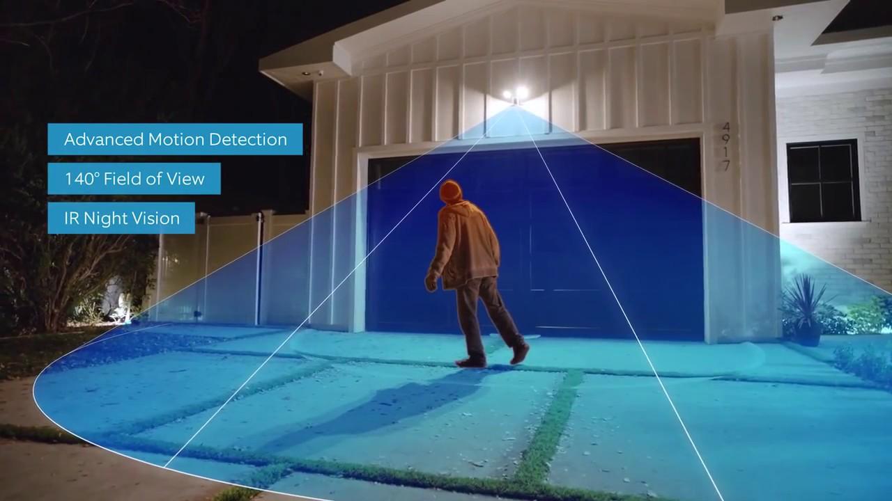 Kết quả hình ảnh cho Ring Floodlight Cam
