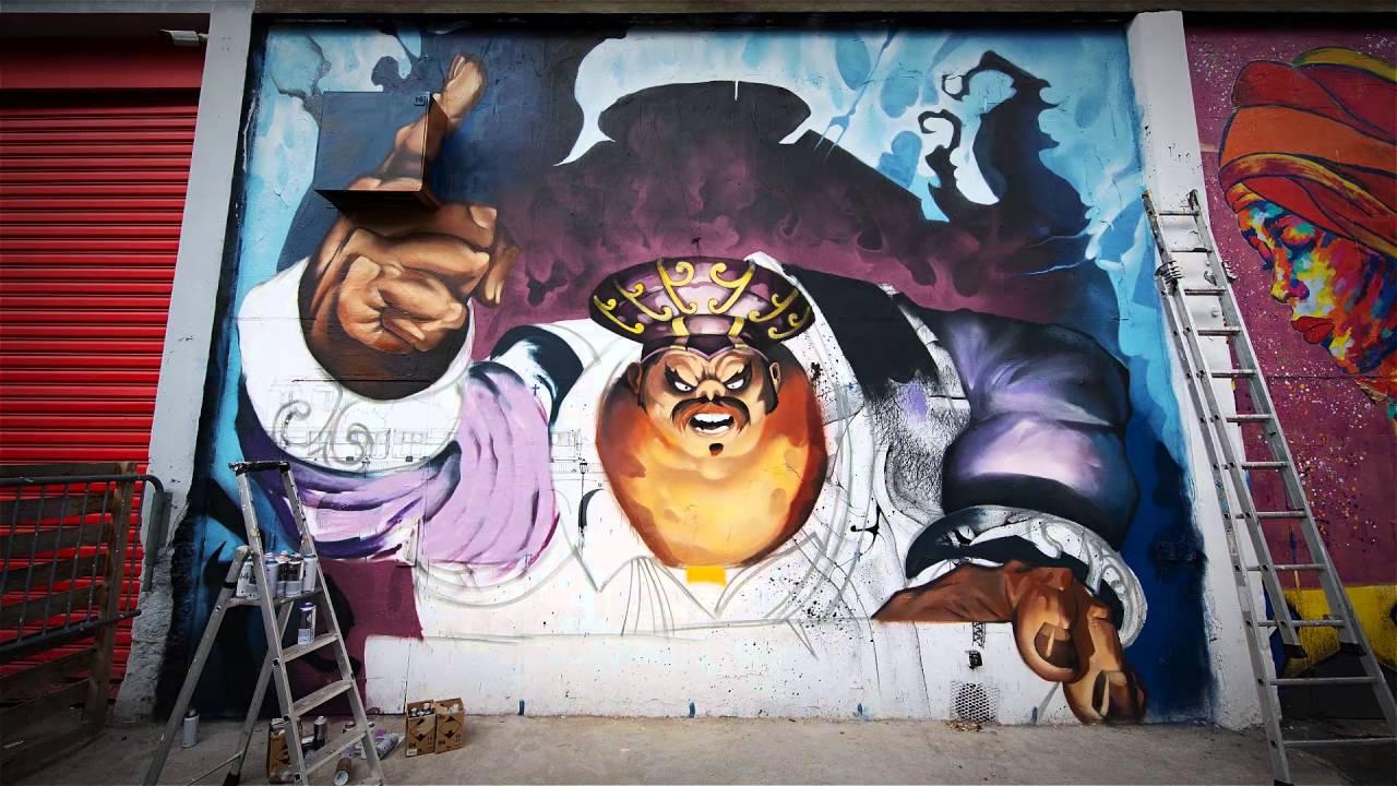 Hearthstone Paris Street Art Time Lapse Youtube