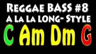 Reggae Backing Track for Bass #8 A la la Long Style