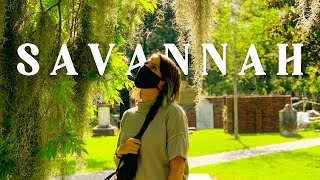 Savannah, Georgia during Pandemic | Things to Eat, See & Do | Vegan Travel