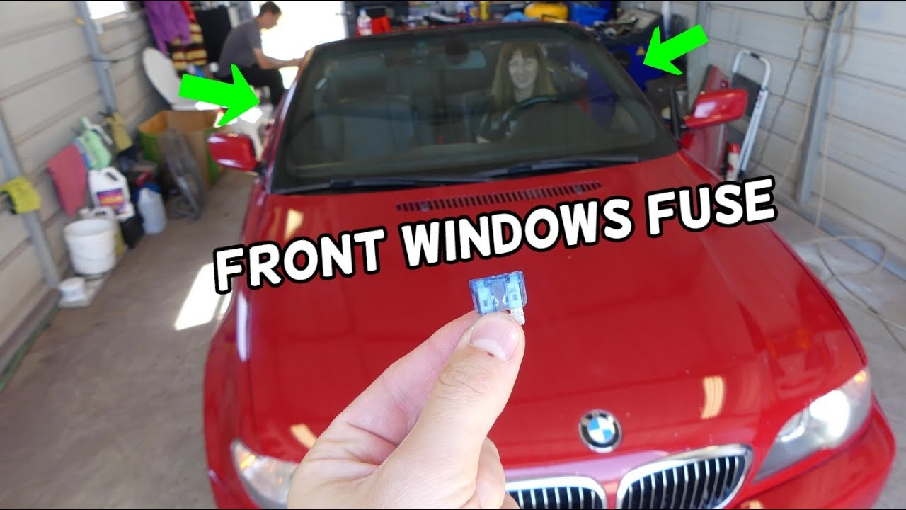 Front Windows Not Working Fuse Location Replacement Bmw E46 325i 328i 330i 318d 320d 325d 330d 320i Youtube