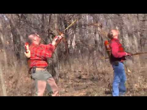 Squirrel Archery Hunting