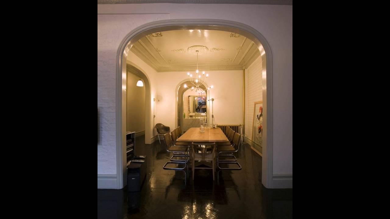 Schönes Haus Esszimmer Interieur Zeitgenössischen Möbeln - YouTube