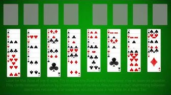 How To Play Free Cell Solitaire