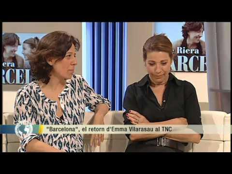 """TV3 - Els matins - Emma Vilarasau i Míriam Iscla protagonitzen """"Barcelona"""" al TNC"""