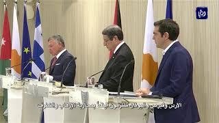 جلالة الملك يؤكد ضرورة التوصل إلى حل عادل للقضية الفلسطينية - (16-1-2018)