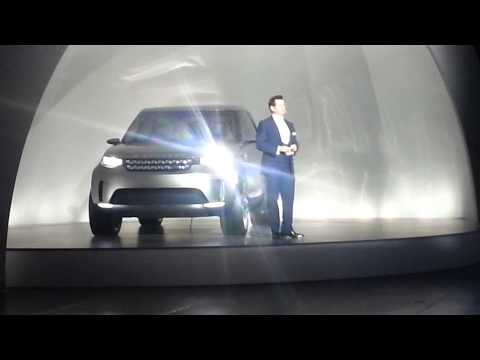 TestMiles | Automotive News: The Unveiling of the new Land Rover Discovery Concept, NYC