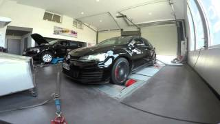 Reprogrammation moteur VW Golf 7 GTD 184 PS @ 220 PS - ADP Performance