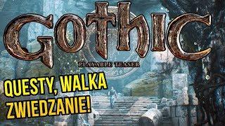 GOTHIC Remake - QUESTY, WALKA i EKSPLORACJA / Gameplay PL [#02]