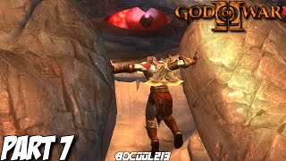GOD OF WAR 2 GAMEPLAY WALKTHROUGH PART 7 ATLAS - PS3 LET