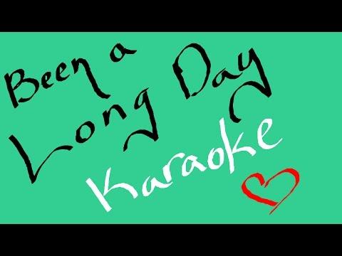 Been a Long Day (Rosi Golan) - Karaoke