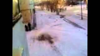 Ачинск  Прикол с покрышками