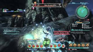 Xenoblade Chronicles X - Elaine, the Lunar Eclipse On Foot Solo (Psycho Launchers/Photon Saber)