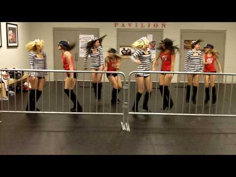 NJ Devils Dancers - Jailhouse Rock - Choreography by Amanda Grace