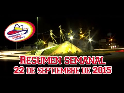Resumen semanal - 22 de septiembre de 2015