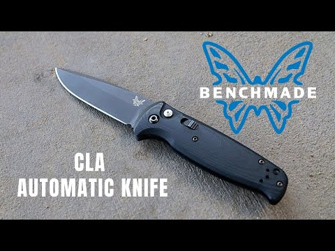 Benchmade CLA 4300 Automatic Knife Review! | The Best Automatic EDC Knife for Everyone!