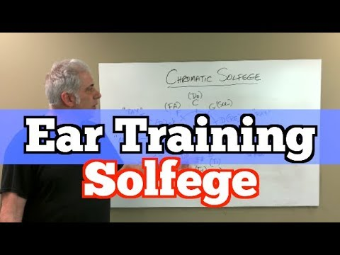 Ear Training - Chromatic Solfege