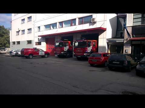 Pärnu Pääste Estonia Fire Response 2x Scania Pump