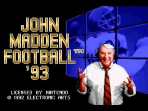 CGRundertow JOHN MADDEN FOOTBALL 93 for Sega Genesis Video Game Review