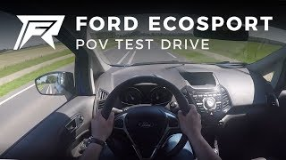 2017 Ford Ecosport 1.0 Ecoboost - POV Test Drive