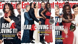 The Walking Dead marks 100 episodes with 3 celebratory EW covers '9/21/2017'