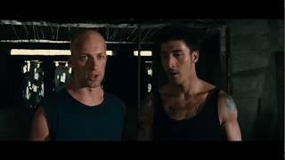 Лейто и Дамьен Против Человека Горы ... отрывок из фильма (13 Район/Banlieue 13)2004