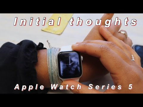 Unbox & Set Up My Apple Watch With Me! | Apple Watch Series 5