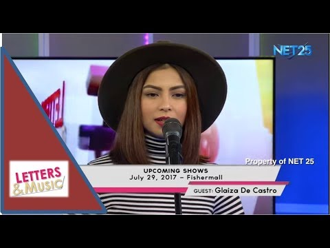 GLAIZA DE CASTRO NET25 LETTERS AND MUSIC Guesting - EAGLE ROCK AND RHYTHM