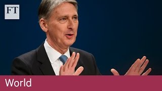 Tory conference – Brexit, the economy | FT World