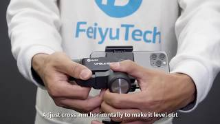 Feiyu Vimble 2S Telescoping 3-Axis Gimbal Stabilizer Smartphone HP