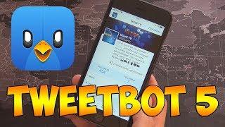 TWEETBOT 5 - Почему я выбрал именно это приложение